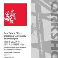 Workshop Universidad de  Zhejiang 2010-2011
